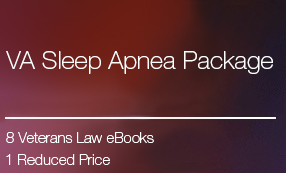 VA Sleep Apnea Claims eBook Package