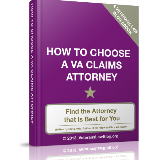 How to Hire an Attorney For Your VA Claim or Appeal.