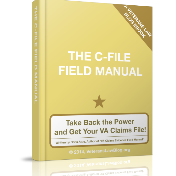 Take Back the Power: How to Get Your VA C-File!