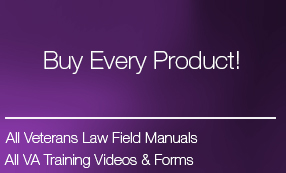 Get All the Veterans Law Blog VA Claims eBooks and Training Videos